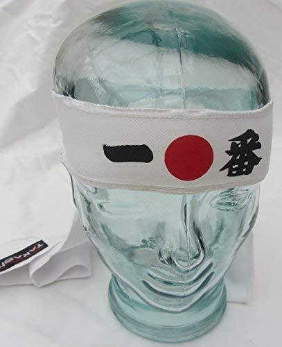 Hachimaki, Ichiban Nuevo Takashi Kendo Tenugui Samurai 200cm ...