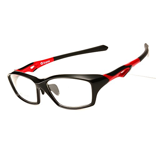 Langford Men Optical Eyeglasses Frame Sports Riding Glasses Plastic titanium