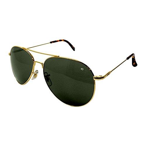 Sol Alambre Oro General Verdadero Color de Verde nbsp;mm espátula óptica American Gafas 52 ERWTq7qw