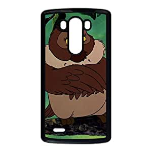 LG G3 Cell Phone Case Black The Fox and the Hound Character Big Mama Phone Case Covers Fashion Personalized XPDSUNTR04867