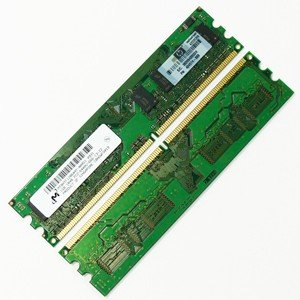 1GB DDR2 SDRAM PC-6400 800MHz CL6 240pin HP 404574-888.