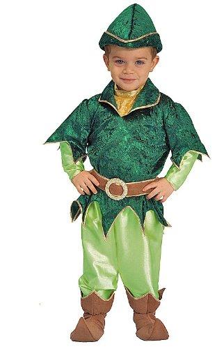 [Deluxe Peter Pan Child Halloween Costume Size 4T Toddler] (Child Deluxe Peter Pan Costumes)