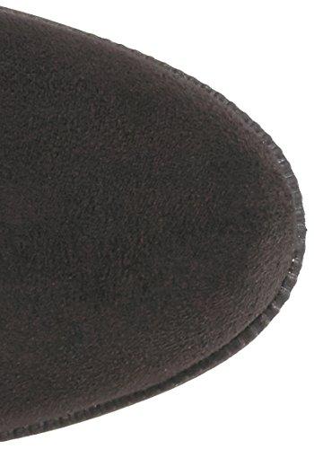 Women Schwarzes Stiefel Rampage Micro 's Overknee Upside zf1fnWUvg