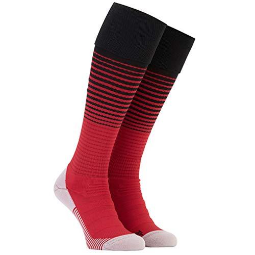 18-19 Season Home Manchester United Soccer Socks For Mens Fan Athletic Gift Red Sports Socks