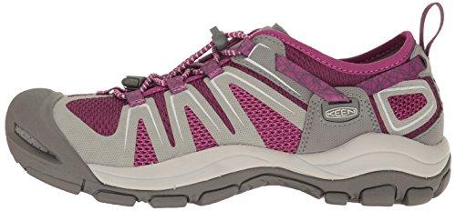 Pictures of KEEN Women's McKenzie II Hiking Shoe 1016798 Neutral Gray/Dark Purple 9 M US 5