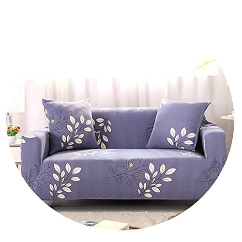 No Buy No ByeIO Four Seasons Universal Sofa Cover Slip-Resistant Loveseat Sofa Cover Elastic Full Couch Cover Single/Two/Three/Four-seat,23,Single seat 90-140cm
