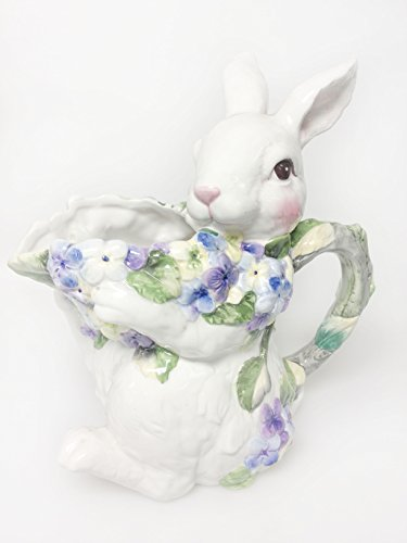 - House of Zog Ceramic Bunny Water Pitcher