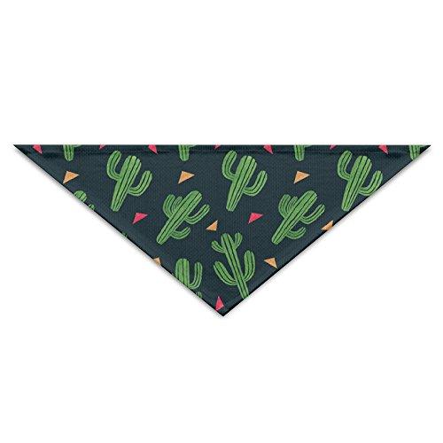 Logic Theory Cactus Fiesta Pet Scarf Dog Cat Bandana Collars Triangle Neckerchief