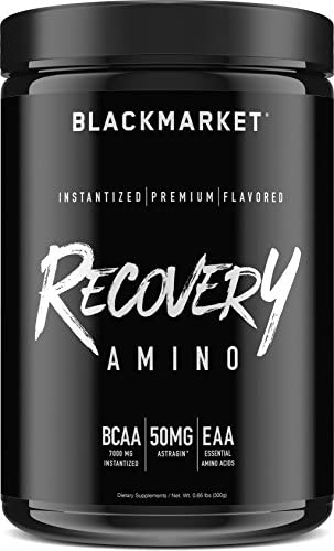 BLACKMARKET Recovery Amino, Cucumber Lemon, 30 Servings, 300g