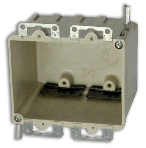 Box Moulded (Allied Moulded H9329=EWK Two Gang Fiberglass Box)