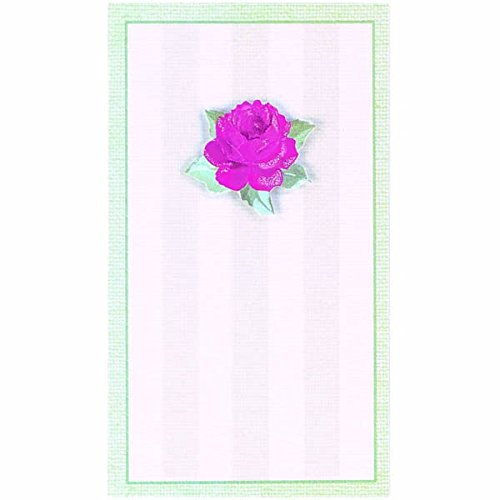 Party Perfect Traditional Rose Printable Invitation Sheets, Paper, 7'' x 4'', Pack of 8
