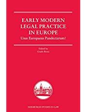 Authorities in Early Modern Law Courts (Edinburgh Studies in Law)