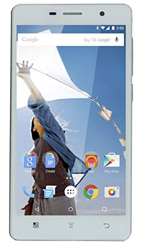 Good One 4G 5 inch Gorilla glass Android Lolipop Phone in White Colour