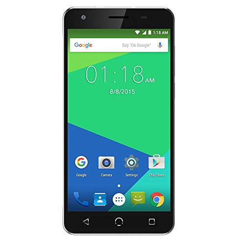 NUU Mobile N5L 5.5'' HD Dual LTE SIM Android Lollipop Smartphone with 2YR Warranty, Black by NUU Mobile