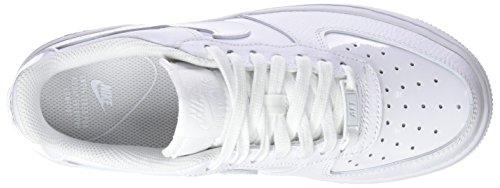 100 WMNS '07 Noir de Force Whitewhite 1 Chaussures Noir Femme Gymnastique Cassé Blanc Air NIKE gd1q66