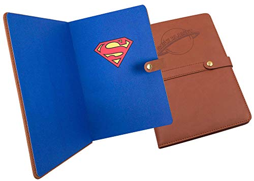 - Superman Daily Planet Reporter Notebook | 100 Ruled Pages Handy Notebook | Leatherette Notebook Cover | Perfect Gift for Men & Women