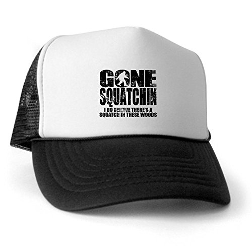 CafePress - Gone Squatchin (distressed faded) Trucker Hat - Trucker Hat 1bb8aa4c6d56