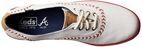 Keds Vrouwen Kampioen Mlb Wimpel Honkbal Fashion Sneaker Atlanta Braves