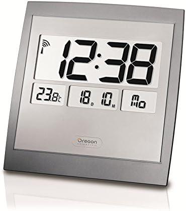 Oregon Scientific JM889NR Reloj, Plata: Amazon.es: Hogar