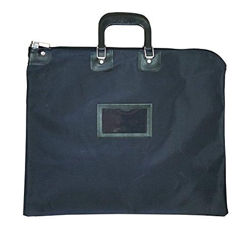 - Locking Document HIPAA Bag 16 x 20 with Handles (Black)