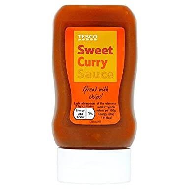 Tesco Sweet Curry Sauce 285g Amazoncouk Grocery
