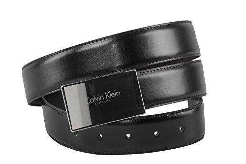 86a363e300080b Cintura uomo CALVIN KLEIN classica 116 cm in pelle double face nera moro  R5736: Amazon.it: Abbigliamento