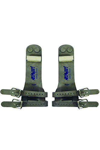 Reisport Men's Double Buckle Ring Grips, Small