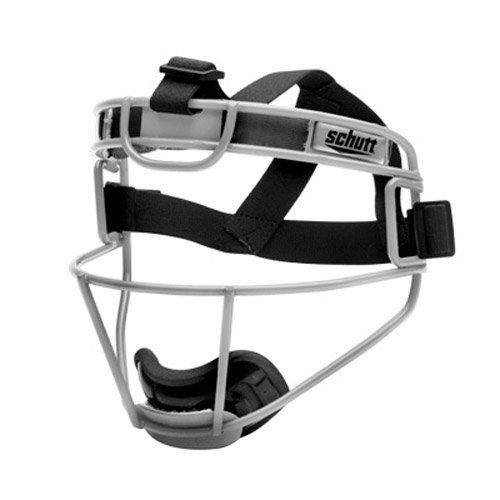 Schutt Sports Youth Softball Fielders Faceguard, Titanium Silver by Schutt