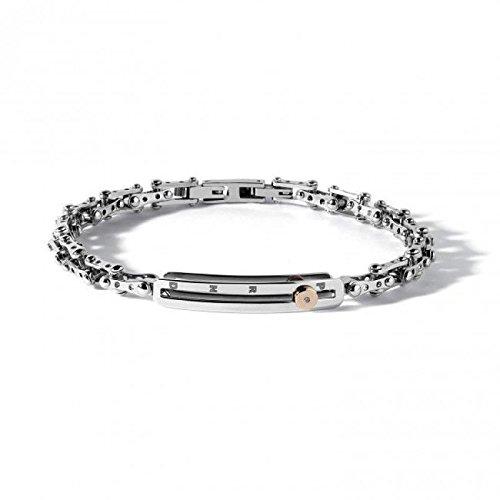 Bracelet COMETE change ubr680acier diamant