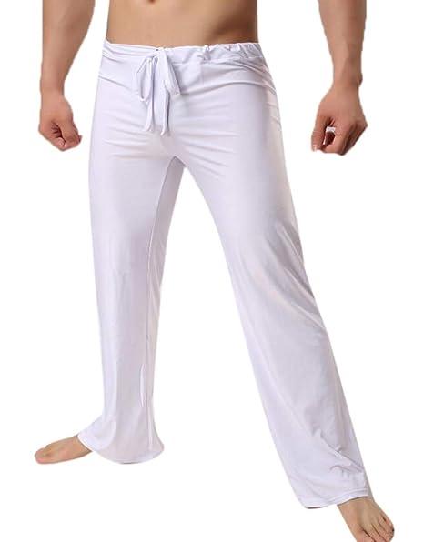 Hellomiko Pantalones Casuales de los Hombres Pantalones ...