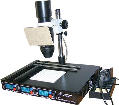 T862 Rework Station Infrared Soldering Smt Smd Irda Bga Welder Machine