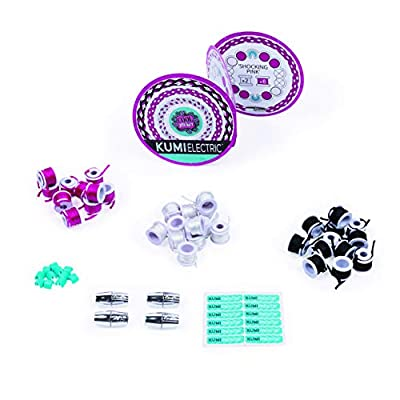 Cool Maker 6045486 Kumi Mini Fashion Packs, Makes Up to 4 Bracelets, for Ages 8 and Up (Styles Vary), Multicolour: Toys & Games