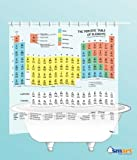 Periodic Table Shower Curtain (EVA vinyl) - The Official Curtain on The Big Bang Theory
