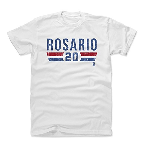 500 LEVEL Eddie Rosario Cotton Shirt X-Large White - Minnesota Baseball Men's Apparel - Eddie Rosario Font B