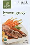 Simply Organic (NOT A CASE) Brown Gravy Seasoning Mix