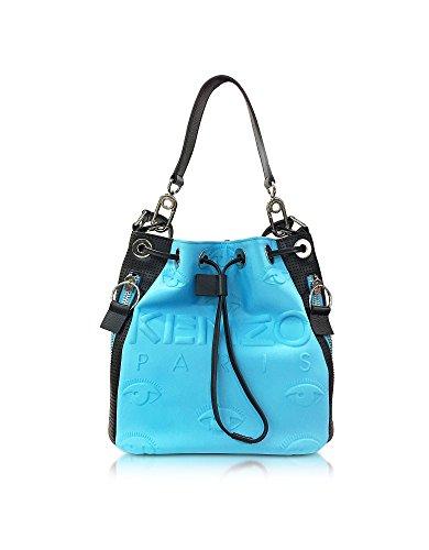 Kenzo Borsa A Spalla Donna PF762SA401F0968 Altri Materiali Azzurro