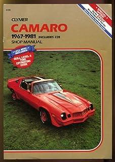 chevrolet camaro 1970 81 haynes repair manuals scott mauck rh amazon com 1980 Camaro Z28 1980 Camaro Z28