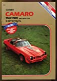 Camaro Service-Repair Handbook, Jim Combs and Eric Jorgensen, 0892872268