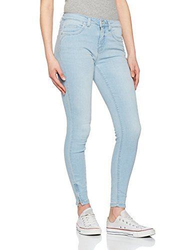Only Onlkendell Reg SK Ankl Jeans Cre200noos, Mujer Azul (Light Blue Denim)