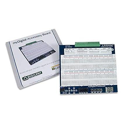 Amazon com: Digilent myDigital Protoboard for NI myDAQ and myRIO