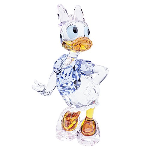 Swarovski Daisy Duck Crystal Figurine Crystal Duck Figurine