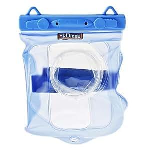 Cámara Bingo WP0114 PVC bolsa impermeable (azul, de hasta 20 metros)