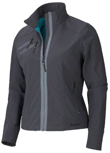 (Marmot Zoom Softshell Jacket - Women's Jackets XS Dark Steel)