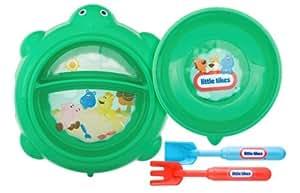 Zak Designs 4 Piece Little Tikes Turtle Mealtime Set (Discontinued by Manufacturer)