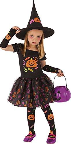 Comprar Rubies- Disfraz infantil Bruja Candy - Varias Tallas - Tiendas Online Disfraces para Halloween para niños - Envíos Baratos o Gratis