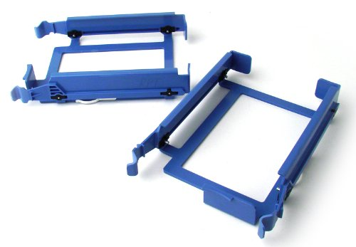 Dell Blue Hard Drive Caddy For Dimension E310 3100 9150 9200 5150 5100 E510 Optiplex GX520 GX620 Optiplex 960 320 330 360 210L Optiplex 740 745 755 760 SMT (Tower) Part Number: H7283 U6436 YJ221 RH991