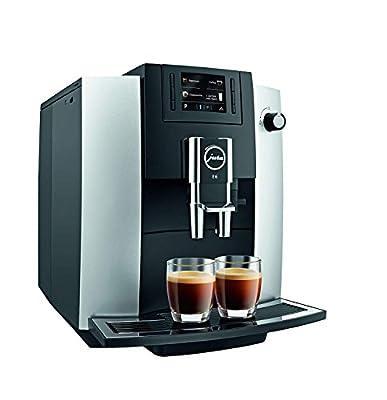 Jura 15070 E6 Automatic Coffee Center, Platinum, Promotional Bundle.