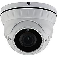 HDView 2.4MP 4-in-1 (TVI/AHD/CVI/960H) 1080P Outdoor SONY Sensor 2.8-12mm Vari-Focal Lens Turbo Platinum Dome Camera