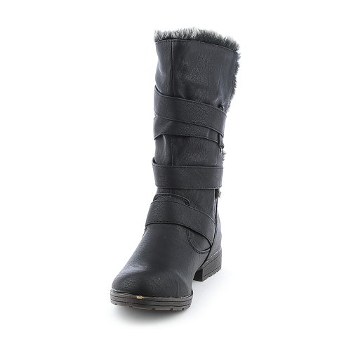 Breckelles Womens Denver-87 Boot Black bkKPb