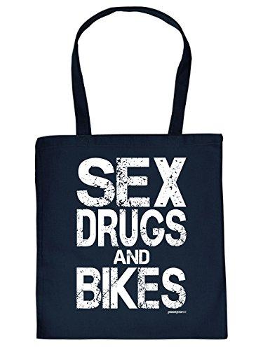 SEX DRUGS and BIKES Tasche von Goodman Design®